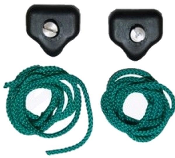 Seasure Rope Tidy Hooks - Black Pack of Two