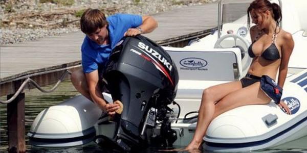 Suzuki Outboard Weight