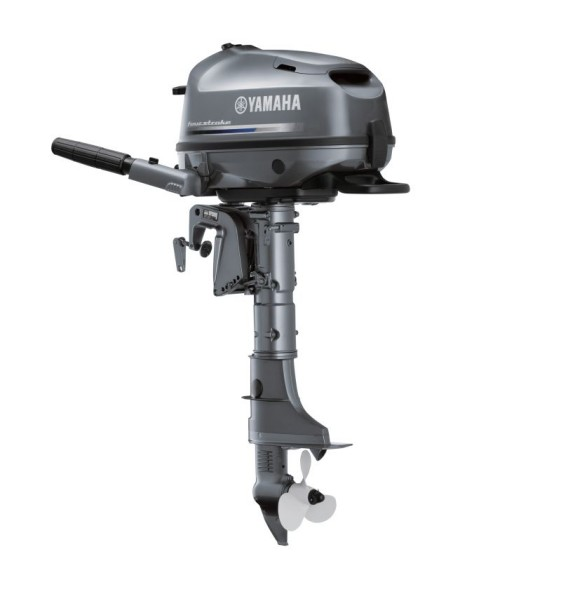 Yamaha f6cmhs 6hp standard shaft 4 stroke outboard for Yamaha 6hp outboard motor