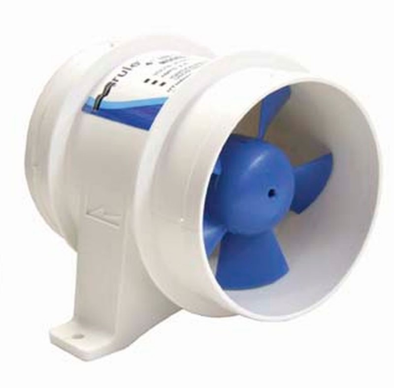 Dc High Volume Blowers : Rule mm inch in line blower volt dc