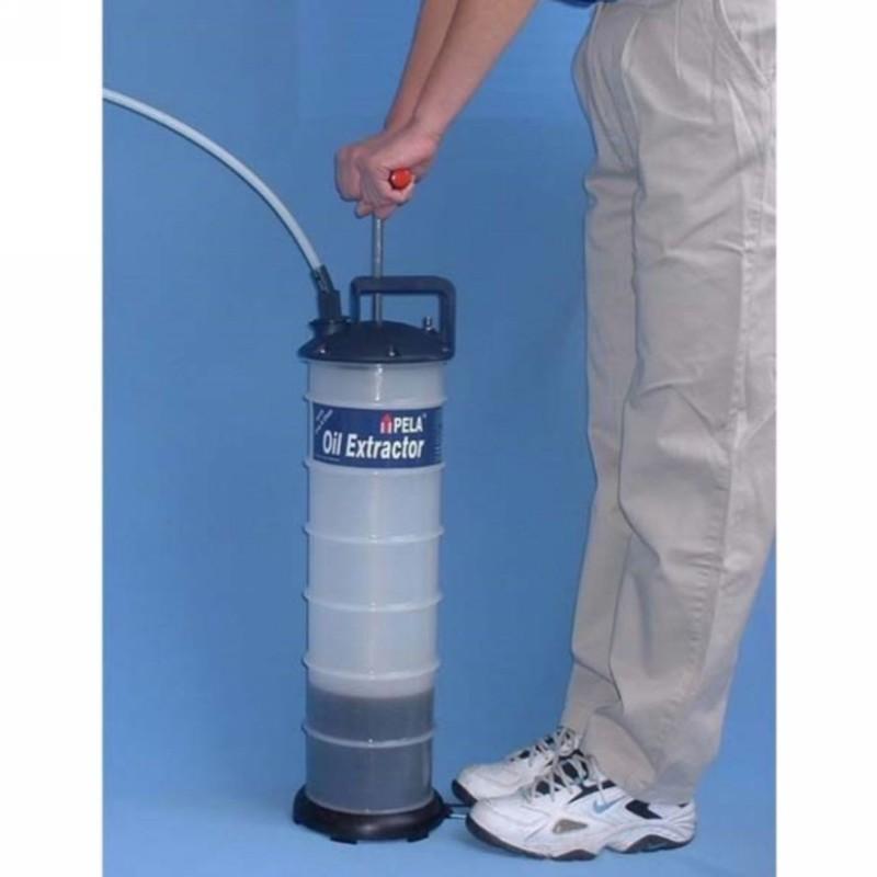 pela  big vacuum oil extractor pump  litre