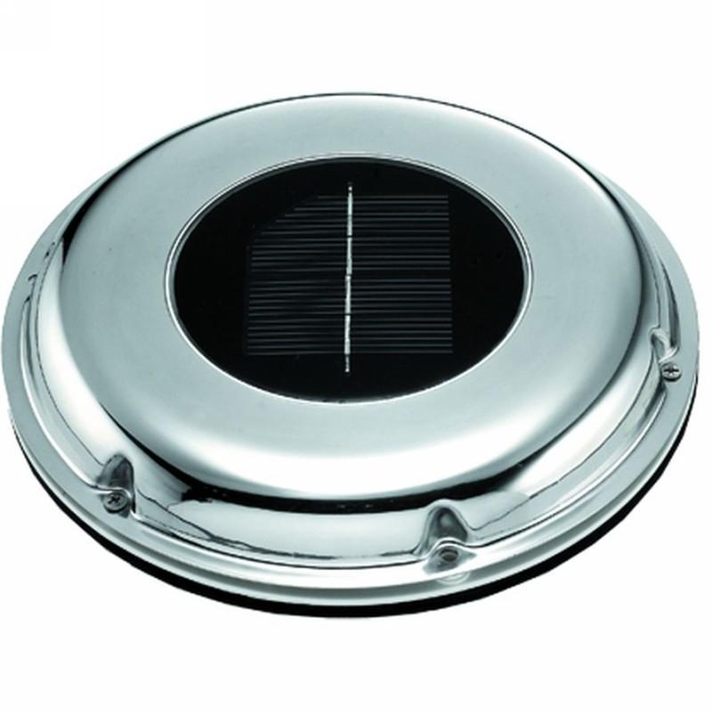 M R Marine Solar Powered Ventilator Stainless Steel