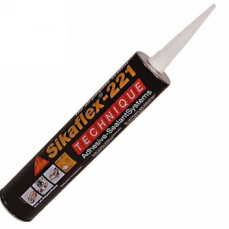 sikaflex 221 polyurethane adhesive sealant white 300ml. Black Bedroom Furniture Sets. Home Design Ideas