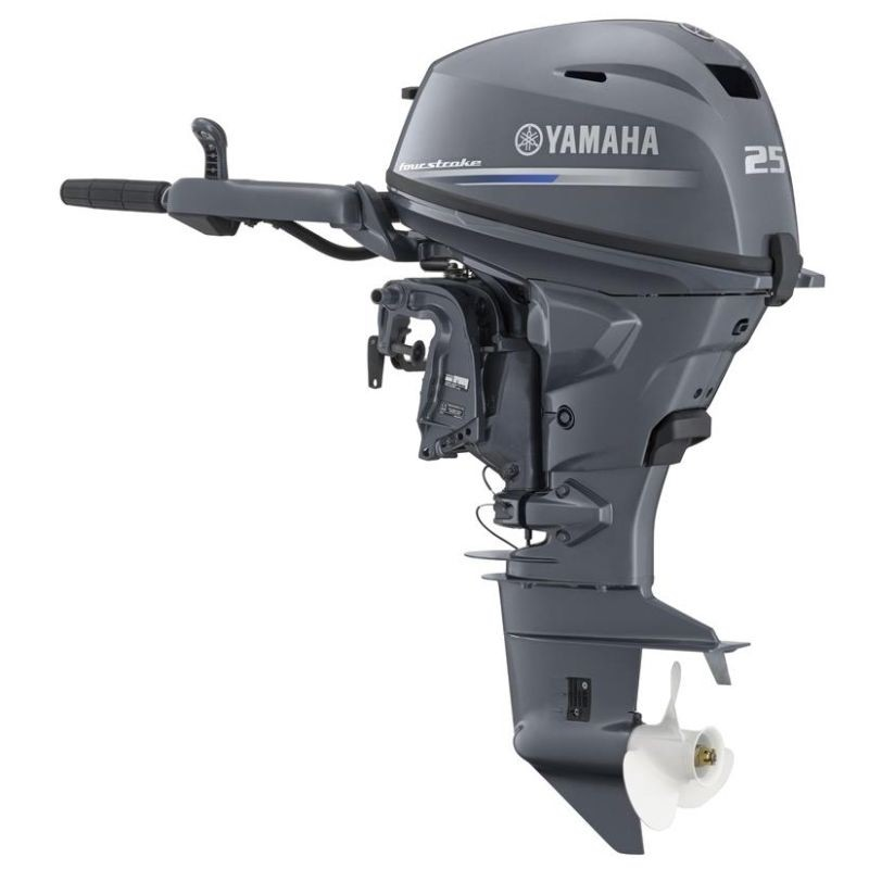 Yamaha 25hp f25gmhl 4 stroke long shaft tiller for 25hp yamaha 2 stroke