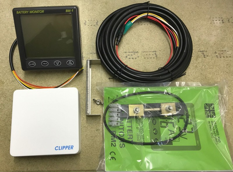 600 Amp Battery Charging System Monitor : Nasa marine clipper bm battery monitor v amp