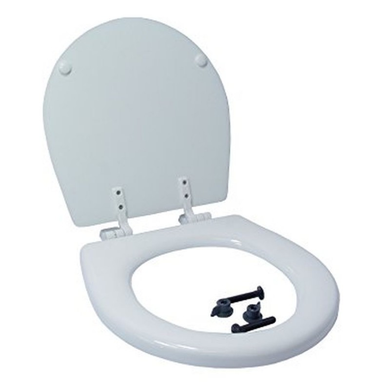 Jabsco Compact Toilet Seat And Lid 29097-1000 Including Hinges