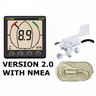 Nasa Clipper Wind Speed & Direction System Version 2 with NMEA