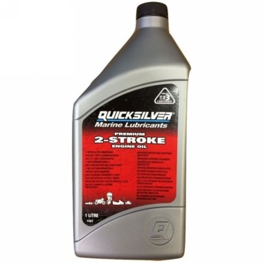 Quicksilver Two Stroke Oil 1 Litre TCW3