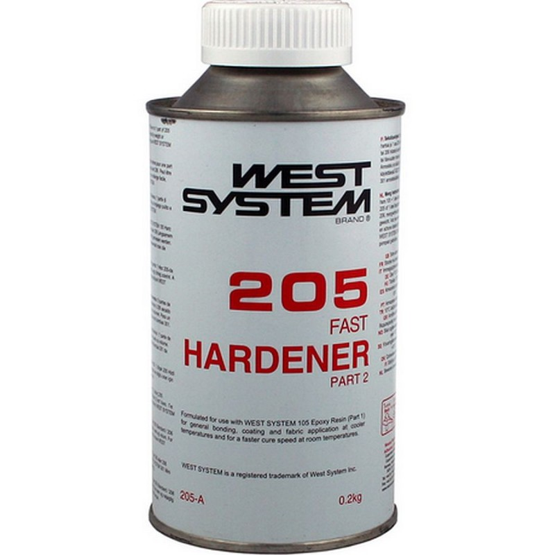 West System Epoxy 205A Fast Hardener Only 0 2kg