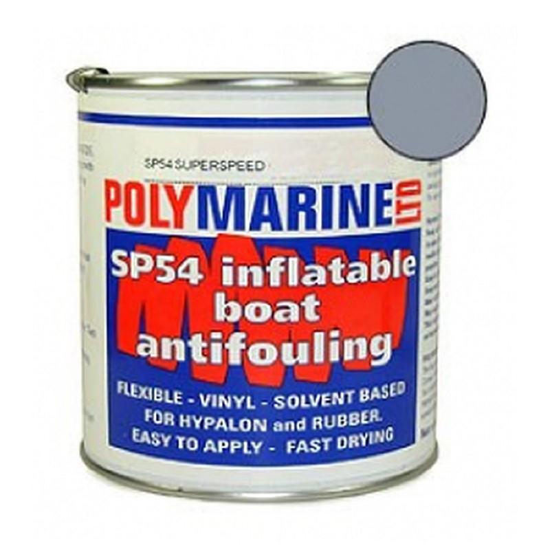 Polymarine SP54 Hypalon Antifoul Grey 1L