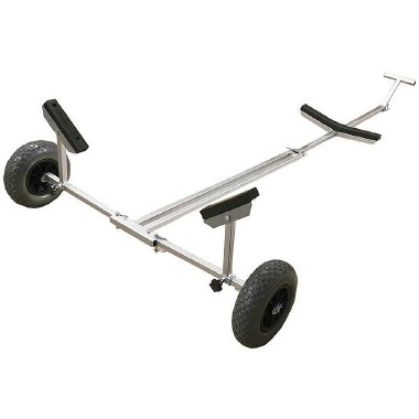 Waveline Foldaway Boat Launching Trolley - Weight Capacity 130kg